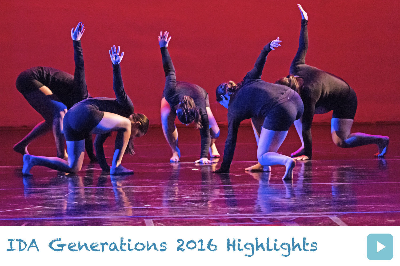 IDA, Institute of Dance Artistry 2016 Generations Dance Concert.