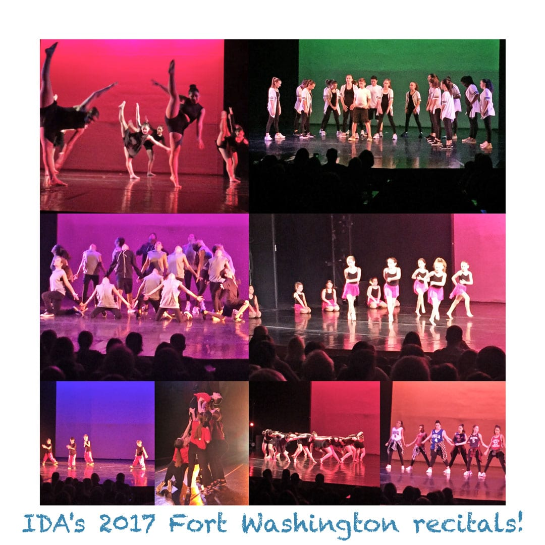 IDA, Institute of Dance Artistry Fort Washington PA studio 2017 concert.