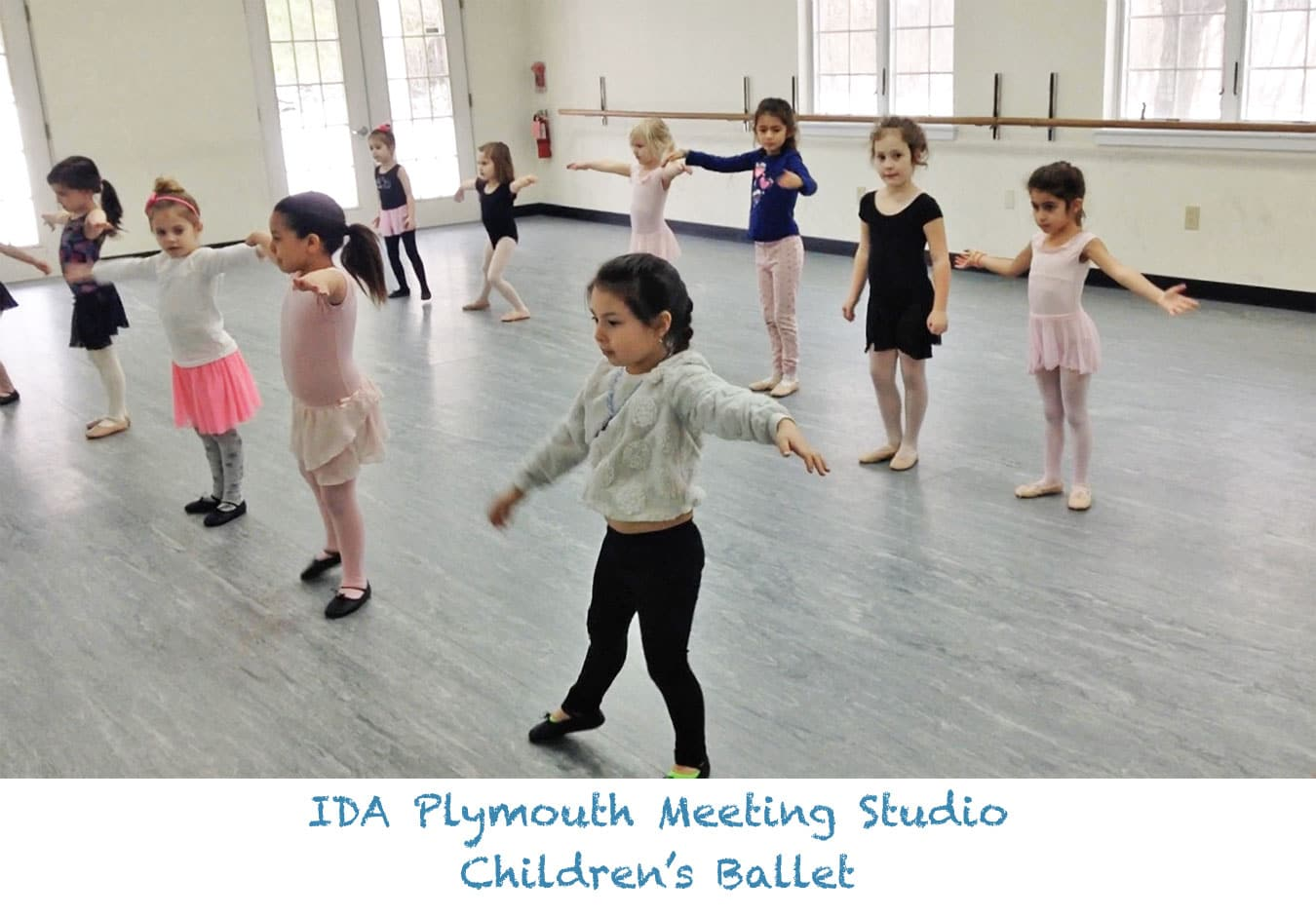 IDA, Institute of Dance Artistry Children's Plymouth Meeting PA studio provides Children's Dance classes including Ballet classes. This IDA studio also services Whitemarsh Township, Conshohocken, Lafayette Hill, and Whitpain Township.