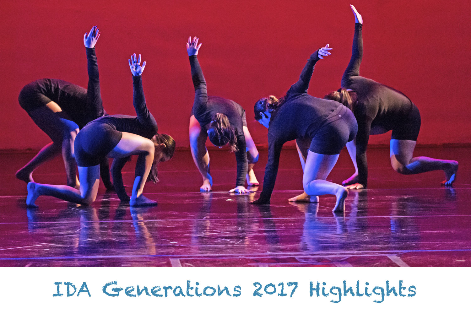 IDA, Institute of Dance Artistry 2017 Generations Dance Concert.