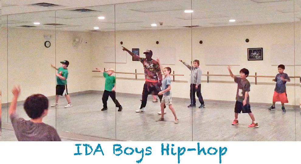IDA, Institute of Dance Artistry Boys Hip-hop Class, Fort Washington PA and Plymouth Meeting PA.
