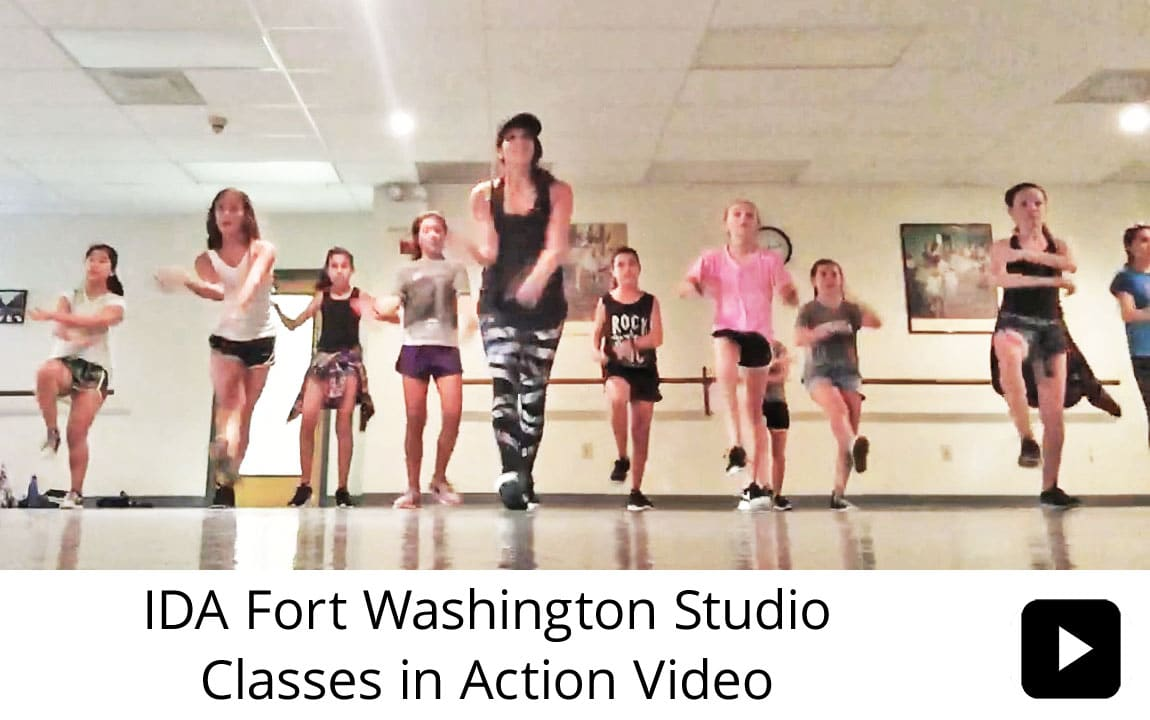 IDA, Institute of Dance Artistry Children's Fort Washington PA studio dance classes in action. This IDA studio also services Dresher, Upper Dublin, Ambler, Horsham, and Springfield Township PA.
