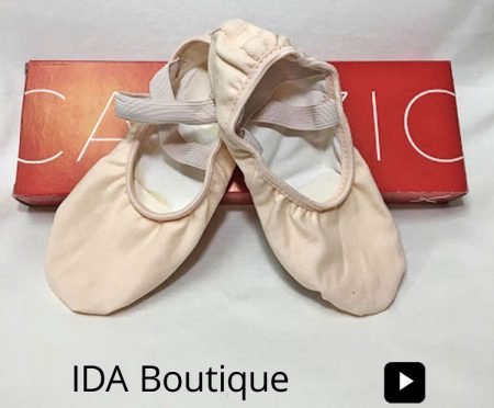 IDA, Institute of Dance Artistry located in Fort Washington and Plymouth Meeting PA, Shopify Stores now feature the IDA Boutique.