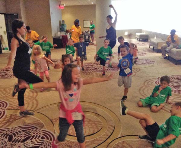 IDA, Institute of Dance Artistry, located in Fort Washington and Plymouth Meeting PA, supports the community year-round including the Juvenile Arthritis foundation conference.