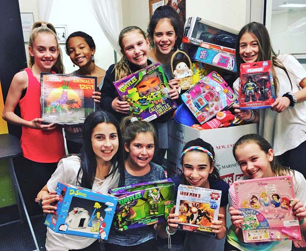 IDA, Institute of Dance Artistry, located in Fort Washington and Plymouth Meeting PA, supports the community year-round including Toys for Tots.