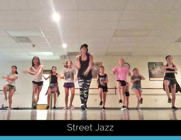 IDA, Institute of Dance Artistry, located in Fort Washington and Plymouth Meeting PA, teaches different dance styles including, Street Jazz.