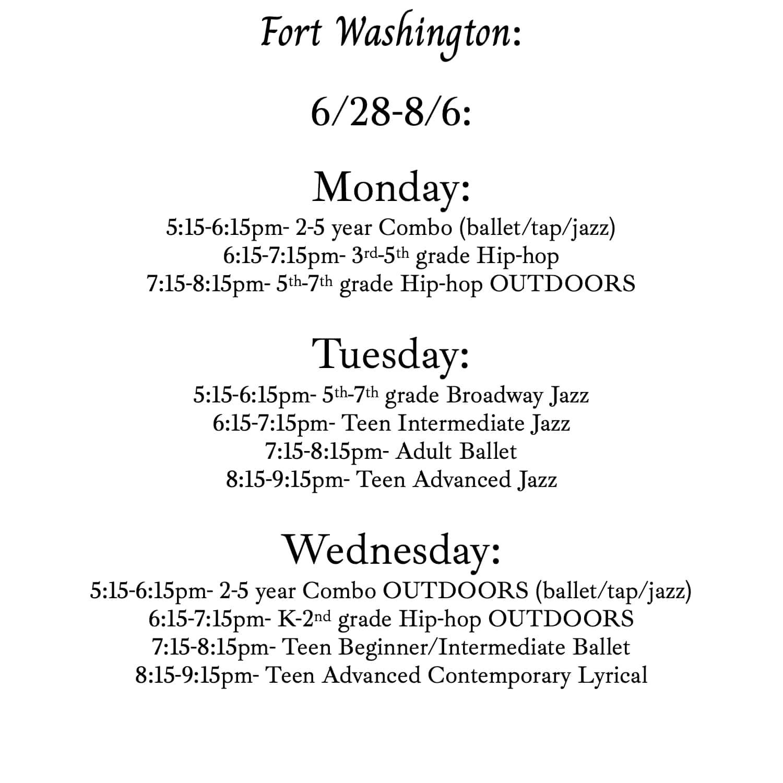 IDA Fort Washington Studio